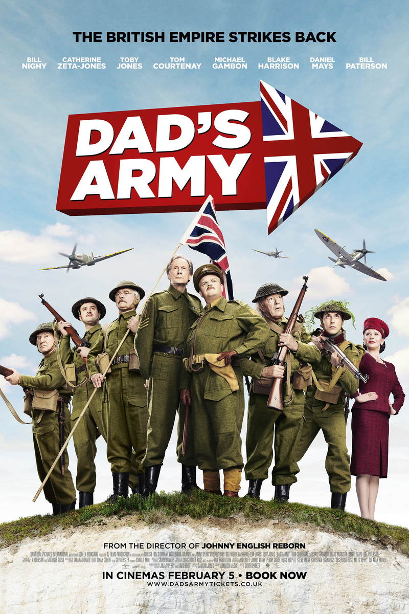 army 2016 dad s army dvd release date was set for december 20 2016 ...